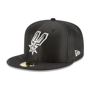 Gorra San Antonio Spurs New Era 2017 Official On-Court 59FIFTY Fitted Cap Precio Barato