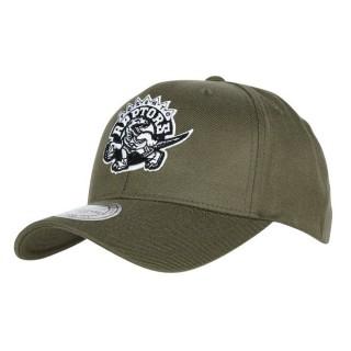 Rebajas en Gorra Toronto Raptors Hardwood Classics Olive Team Logo Snapback Cap Madrid