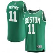 Compra Hombre Boston Celtics Kyrie Irving Fanatics Branded Green Fast Break Camiseta a Precios Bajos