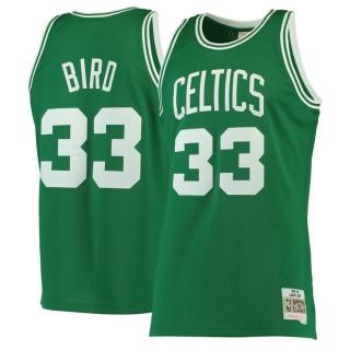 Hombre Boston Celtics Larry Bird Mitchell & Ness Kelly Green 1985-86 Hardwood Classics Swingman Camiseta Outlet Caspe