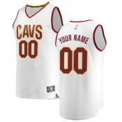 Hombre Cleveland Cavaliers Fanatics Branded Blanco Fast Break Camiseta Personalizada Ventas Baratas Madrid