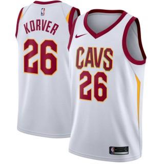 Hombre Cleveland Cavaliers Kyle Korver Blanco Swingman Camiseta Precio Barato