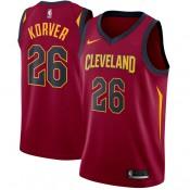 Hombre Cleveland Cavaliers Kyle Korver Granate Swingman Camiseta Ventas Baratas Murcia