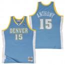 Hombre Denver Nuggets Carmelo Anthony #7 Hardwood Classics Road Swingman Camiseta Barcelona Precio