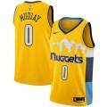 Compra Hombre Denver Nuggets Emmanuel Mudiay Amarillo Swingman Camiseta Statement Edition a Precios Bajos