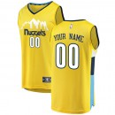 Hombre Denver Nuggets Fanatics Branded Gold Fast Break Camiseta Personalizada Compra online