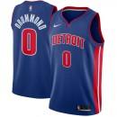 Hombre Detroit Pistons Andre Drummond Azul Swingman Camiseta Ventas Baratas Mallorca