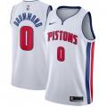 Comprar Hombre Detroit Pistons Andre Drummond Blanco Swingman Camiseta