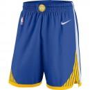 Hombre Golden State Warriors Azul Icon Swingman Pantalones cortos de baloncesto Venta españa
