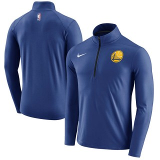 Hombre Golden State Warriors Royal Element Quarter-Zip Chaqueta Nuevo