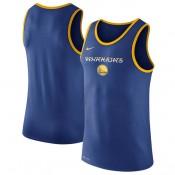 Moda Hombre Golden State Warriors Royal Logo Performance Tank Top
