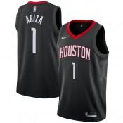 Hombre Houston Rockets Trevor Ariza Negro Swingman Camiseta Statement Edition Baratas