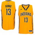 Hombre Indiana Pacers Paul George Gold Player Swingman Alternate Camiseta Precio Al Por Mayor
