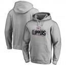 Hombre LA Clippers Heather Gris Primary Logo Sudadera con capucha Outlet Leganes