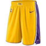 Hombre Los Angeles Lakers Amarillo Icon Swingman Pantalones cortos de baloncesto Código De Descuento