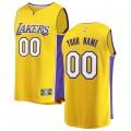 Hombre Los Angeles Lakers Fanatics Branded Gold Fast Break Camiseta Personalizada Ventas Baratas Murcia