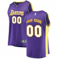 Hombre Los Angeles Lakers Fanatics Branded Púrpura Fast Break Camiseta Personalizada Compras En Línea
