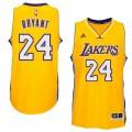 Hombre Los Angeles Lakers Kobe Bryant Gold Player Swingman Home Camiseta Precio Al Por Mayor