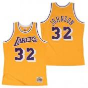 Hombre Los Angeles Lakers Magic Johnson Hardwood Classics Home Swingman Camiseta Shop España