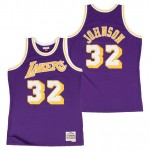 Hombre Los Angeles Lakers Magic Johnson Hardwood Classics Road Swingman Camiseta Outlet Madrid