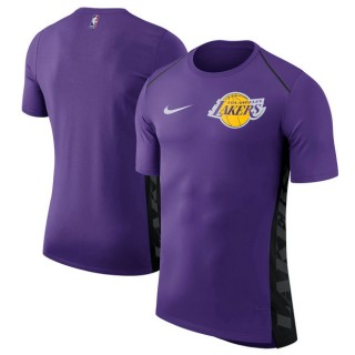 Hombre Los Angeles Lakers Púrpura Elite Shooter Performance T-Shirt Ventas Baratas Vitoria-Gasteiz
