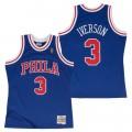 Hombre Philadelphia 76ers Allen Iverson Hardwood Classics Alternate  Swingman Camiseta Madrid Precio f9c66691d27d4