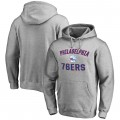 Comprar Hombre Philadelphia 76ers Ash Victory Arch Sudadera con capucha Online