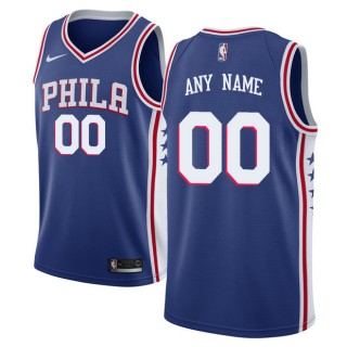 Hombre Philadelphia 76ers Azul Swingman Camiseta Personalizada Ventas Baratas Galicia