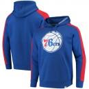 Hombre Philadelphia 76ers Fanatics Branded Royal Iconic Fleece Capucha Outlet Caspe