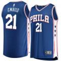 Hombre Philadelphia 76ers Joel Embiid #21 Fanatics Branded Royal Fast Break Camiseta Ventas Baratas Mallorca