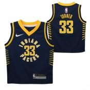 Oficiales Indiana Pacers Nike Icon Replica Camiseta de la NBA - Myles Turner - Niño