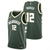 Jabari Parker - Hombre Milwaukee Bucks Nike Icon Swingman Camiseta de la NBA Baratas Outlet