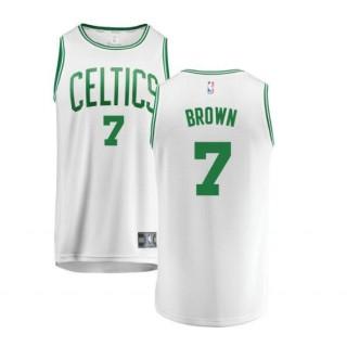 Jaylen Brown #7 Boston Celtics Verde Swingman Camiseta Ventas Baratas Mallorca