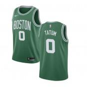 Jayson Tatum #0 Boston Celtics Verde Swingman Camiseta Rebajas