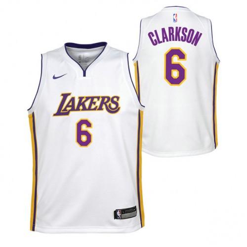 72aefdb50a4b2 Jordan Clarkson - Adolescentes Los Angeles Lakers Nike Icon Swingman  Camiseta de la NBA Baratas Originales