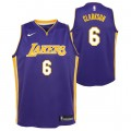 Jordan Clarkson - Adolescentes Los Angeles Lakers Nike Statement Swingman Camiseta de la NBA Venta