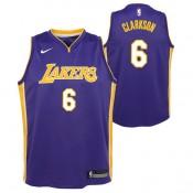 Jordan Clarkson - Adolescentes Los Angeles Lakers Nike Statement Swingman Camiseta de la NBA Venta