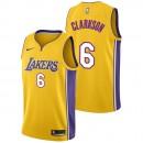 Jordan Clarkson - Hombre Los Angeles Lakers Nike Association Swingman Camiseta de la NBA Ventas Baratas Zaragoza