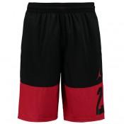 Colección Jordan Rise Twentythree Basketball Pantalones cortos - Negro/Gym Red -Hombre Baratas
