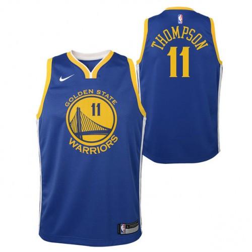 Klay Thompson  11 - Adolescentes Golden State Warriors Nike Icon Swingman  Camiseta de la NBA Ventas Baratas Zaragoza 525d98a2852
