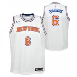 Kristaps Porzingis - Adolescentes New York Knicks Nike Statement Swingman Camiseta de la NBA Ventas Baratas Madrid