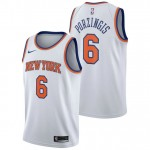 Kristaps Porzingis - Hombre New York Knicks Nike Association Swingman Camiseta de la NBA Precio Promocional
