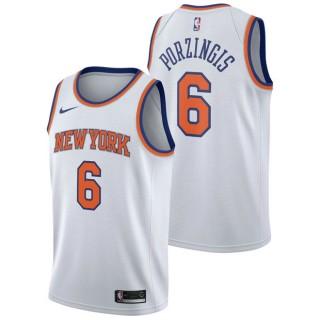 Kristaps Porzingis - Hombre New York Knicks Nike Association Swingman Camiseta de la NBA Precio Promocional