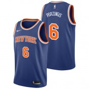 Kristaps Porzingis - Hombre New York Knicks Nike Icon Swingman Camiseta de la NBA Precio Al Por Mayor