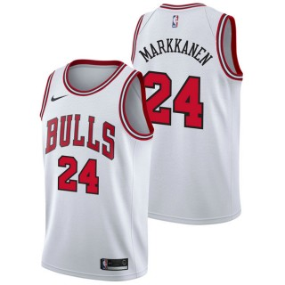 Lauri Markkanen - Hombre Chicago Bulls Nike Association Swingman Camiseta de la NBA Tienda En Madrid