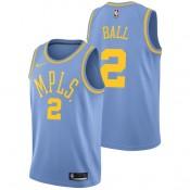 Lonzo Ball #2 - Hombre Los Angeles Lakers Nike Classic Edition Swingman Camiseta Ventas Baratas Andalucia