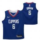 Los Angeles Clippers Nike Icon Replica Camiseta de la NBA - DeAndre Jordan #6 - Niño Barato