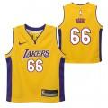 Los Angeles Lakers Nike Icon Replica Camiseta de la NBA - Andrew Bogut - Niño Ofertas