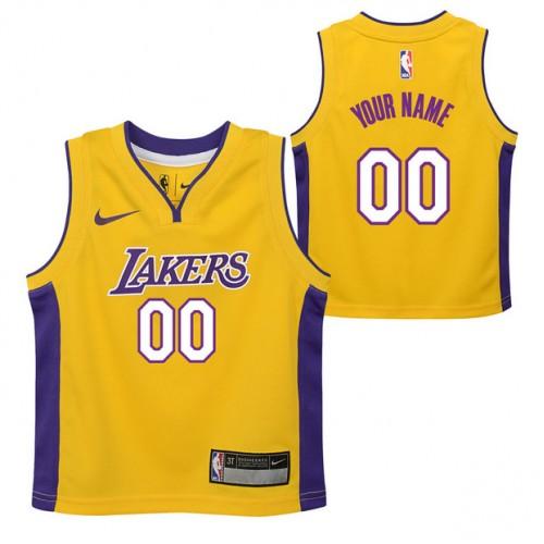bae237b13 Colección Los Angeles Lakers Nike Icon Replica Camiseta de la NBA -  Personalizada - Niño Baratas