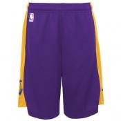 Los Angeles Lakers Nike Practise Pantalones cortos - Field Púrpura/Amarillo - Adolescentes Descuento